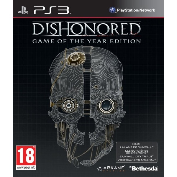DISHONORED : GAME OF THE YEAR EDITION PS3 FR OCCASION