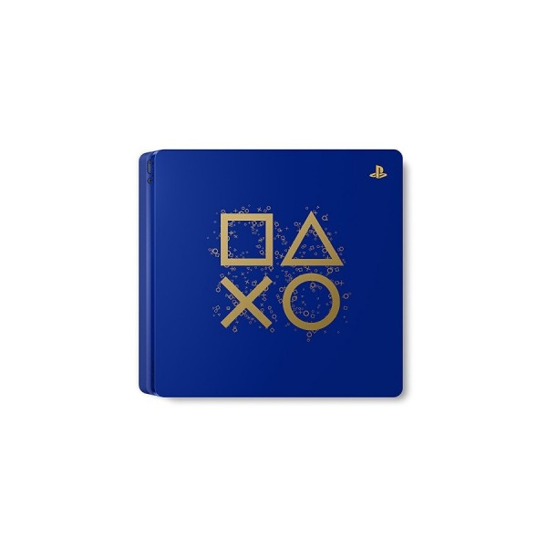 CONSOLE PS4 SLIM 500 GO BLEU LIMITED EDITION EURO OCCASION
