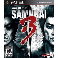 WAY OF THE SAMURAI 3 PS3 USA OCCASION JEU EN FRANCAIS