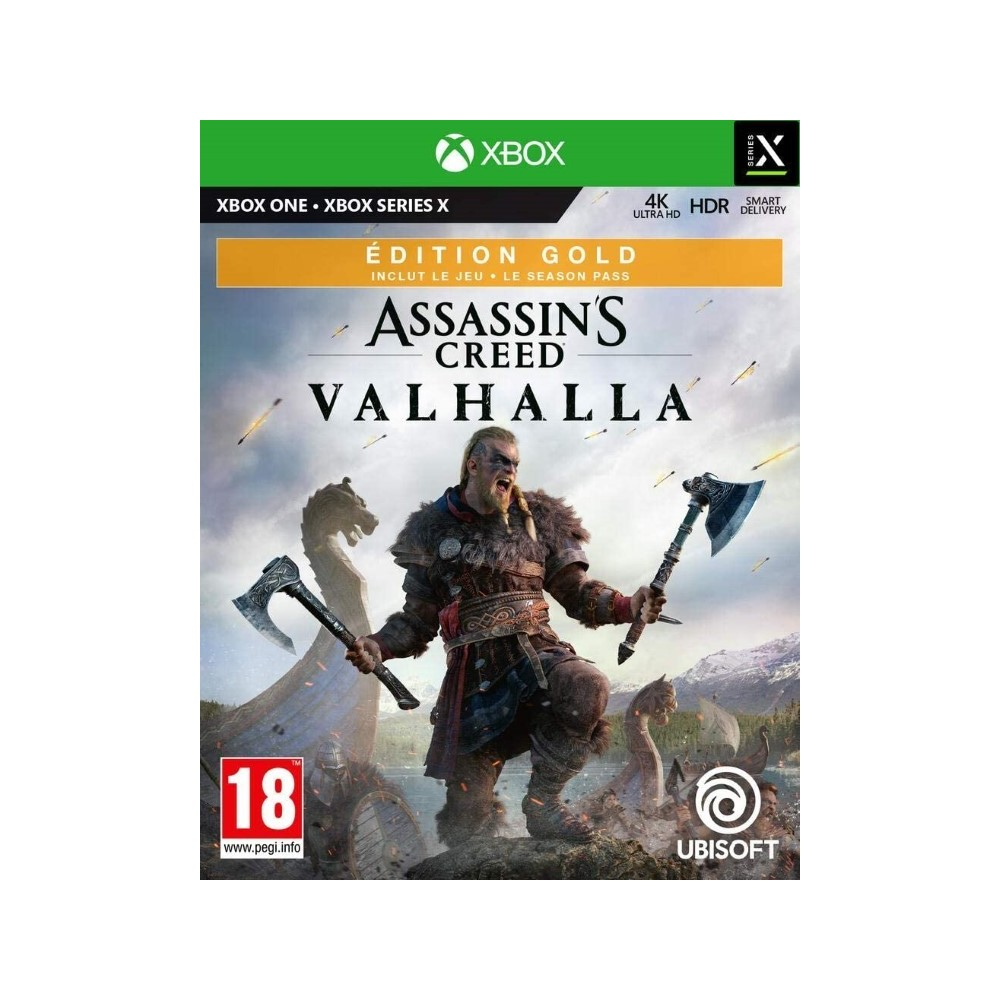 ASSASSIN S CREED VALHALLA GOLD EDITION XBOX ONE EURO NEW