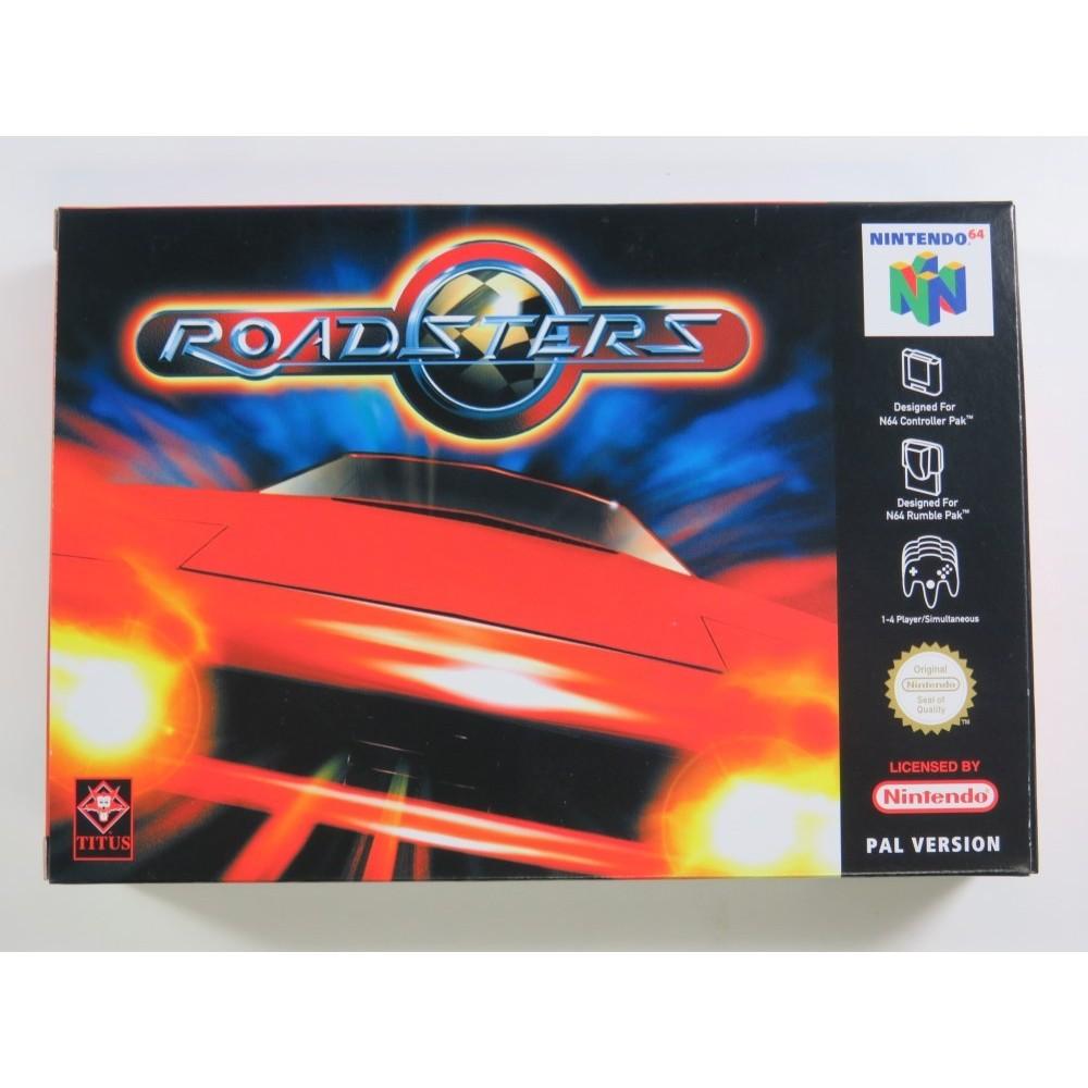 ROADSTERS NINTENDO 64 (N64) PAL-EUR NEUF - BRAND NEW
