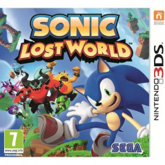 SONIC LOST WORLD 3DS PAL-FRA OCCASION