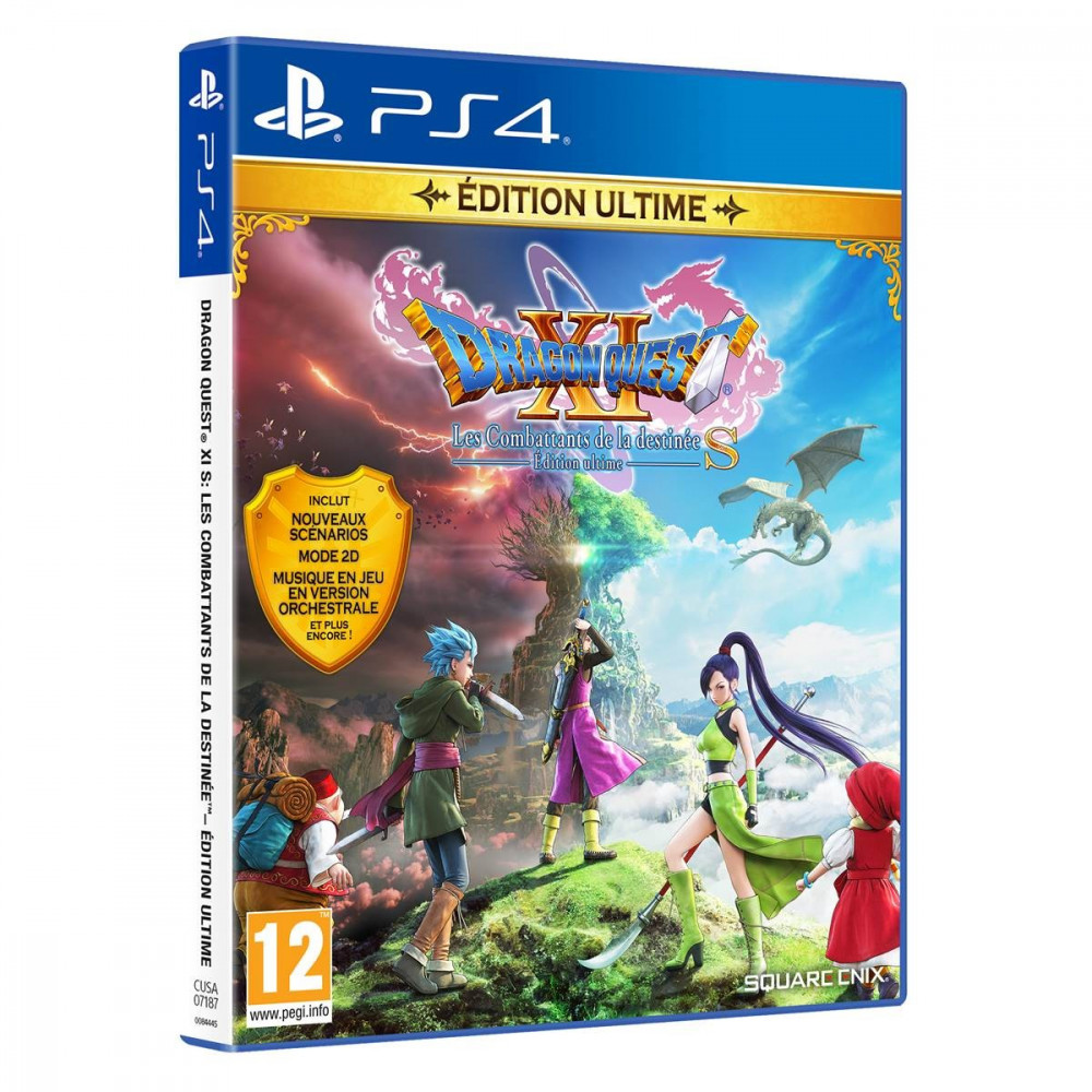 DRAGON QUEST XI LES COMBATTANTS DE LA DESTINEE EDITION ULTIME S PS4 FR NEW