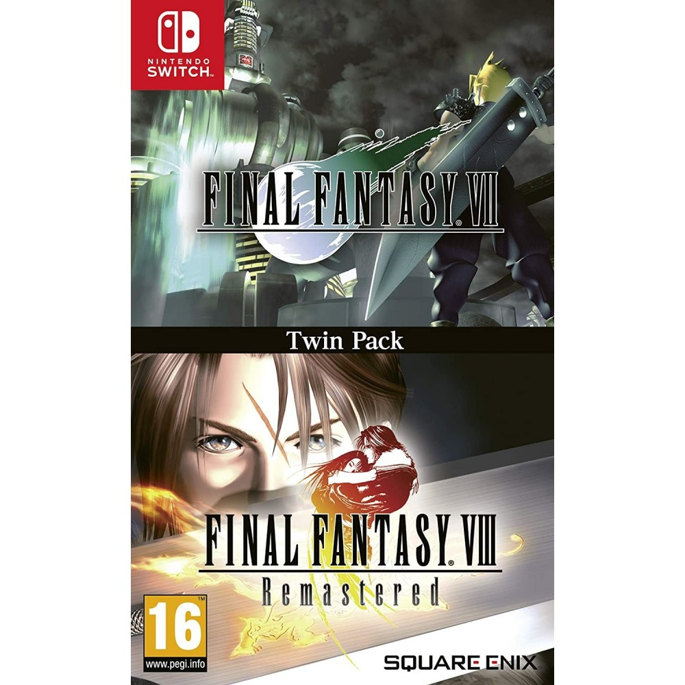 FINAL FANTASY VII & FINAL FANTASY VIII TWIN PACK SWITCH FR NEW