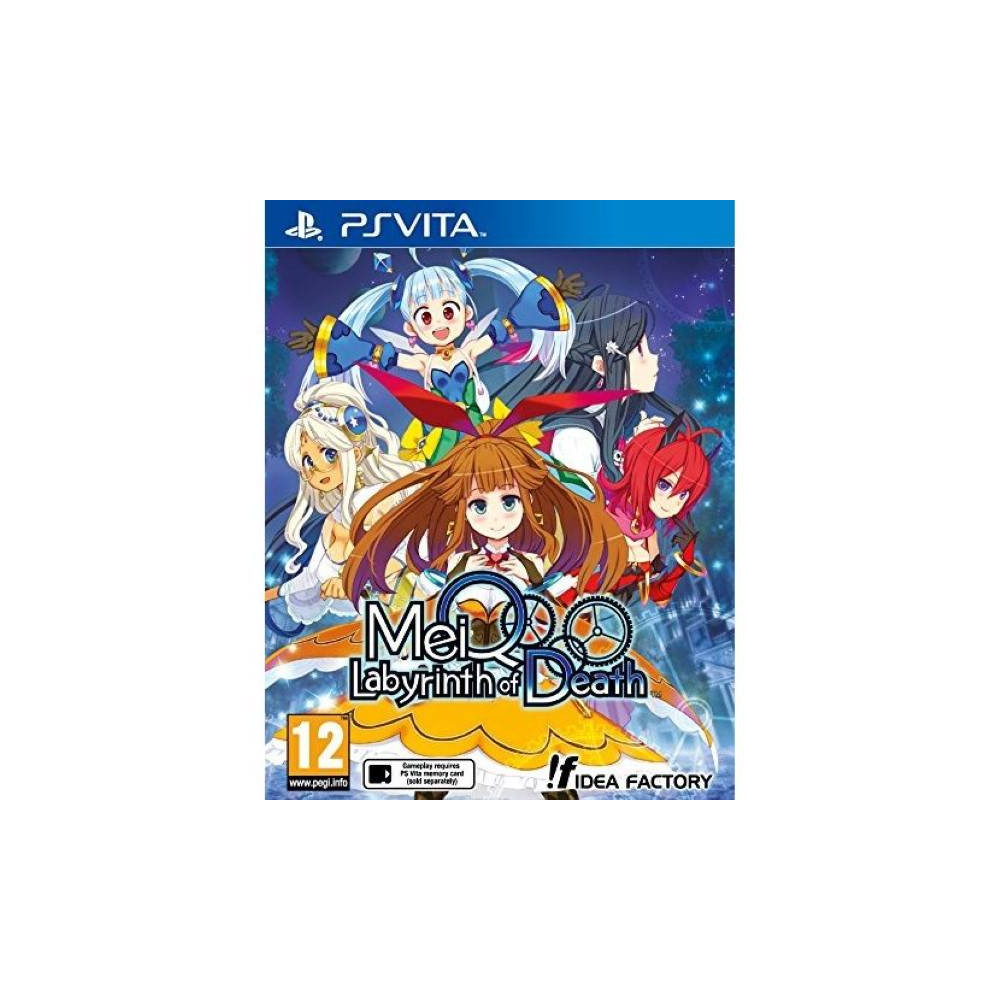 MEIQ LABYRINTH OF DEATH PSVITA FR NEW