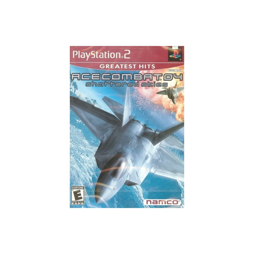 ACE COMBAT 04 SHATTERED SKIES GREATEST HITS PS2 NTSC-USA OCCASION