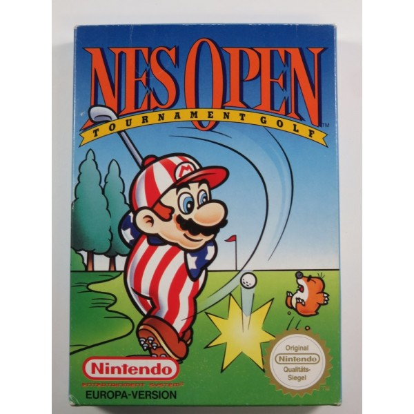 NES OPEN NINTENDO NES PAL B EUROPA-VERSION (NOE) (COMPLETE - GOOD CONDITION)
