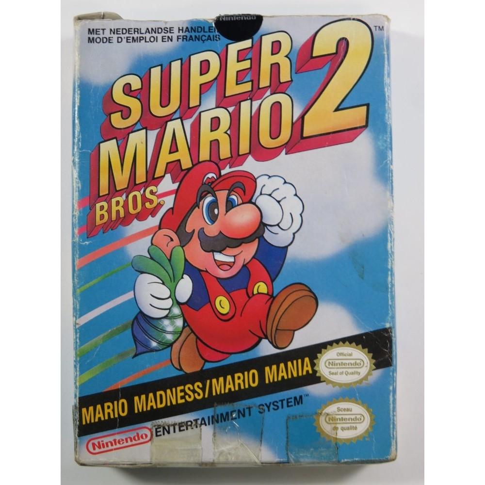 SUPER MARIO BROS 2 NINTENDO NES PAL-FRA (SANS NOTICE)