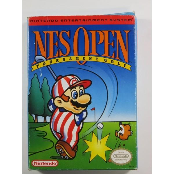 NES OPEN TOURNAMENT GOLF NINTENDO NES NTSC-USA (COMPLETE - GOOD CONDITION)
