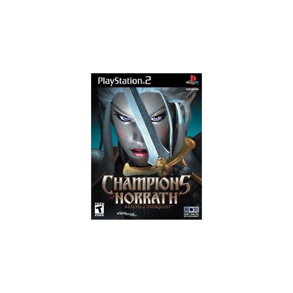 CHAMPIONS OF NORRATH PS2 NTSC-USA OCCASION