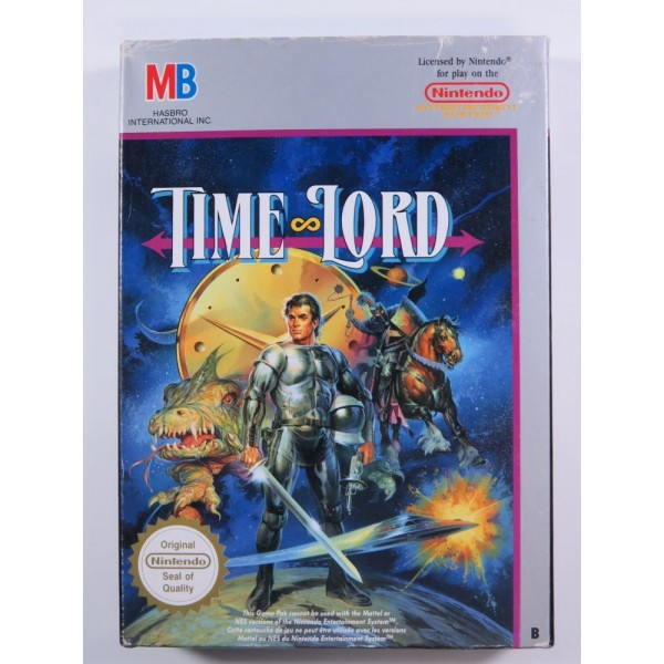 TIME LORD NINTENDO NES PAL-FRA (COMPLETE - GOOD CONDITION)