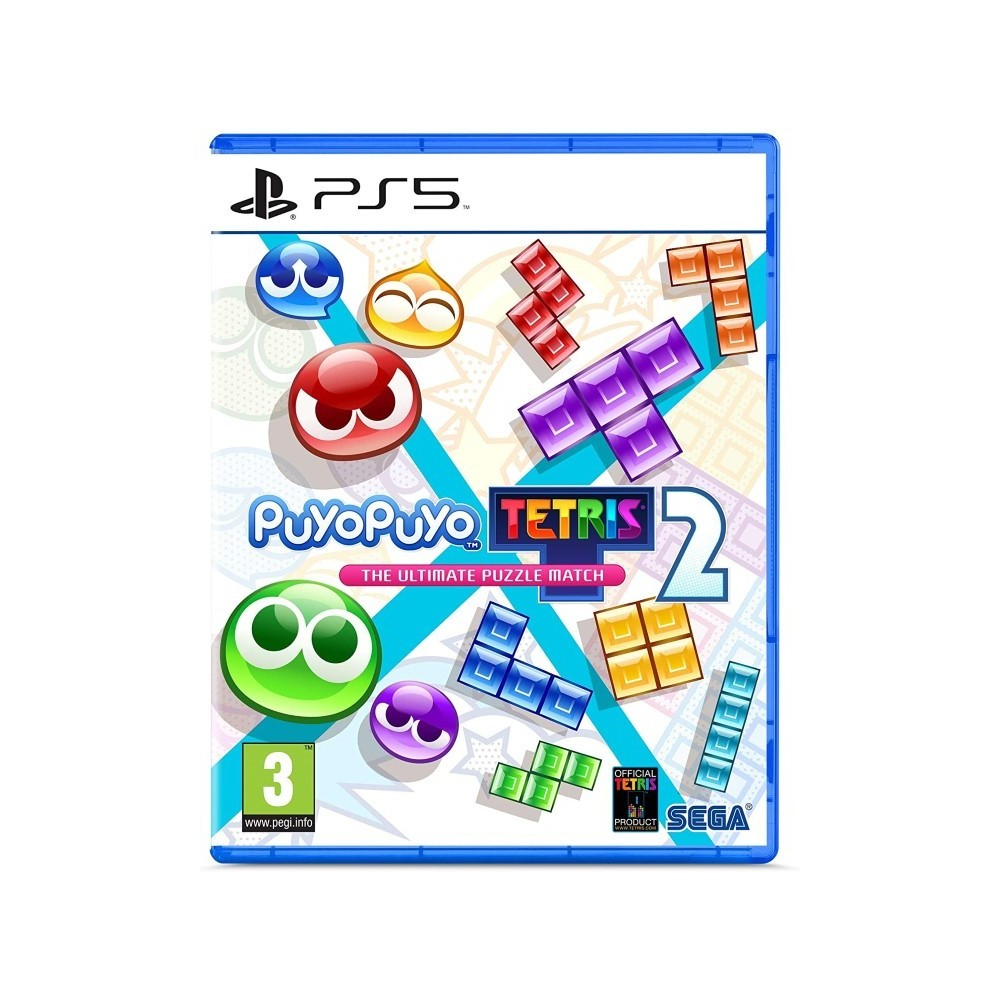 PUYOPUYO TETRIS 2 THE ULTIMATE PUZZLE MATCH PS5 FR NEW