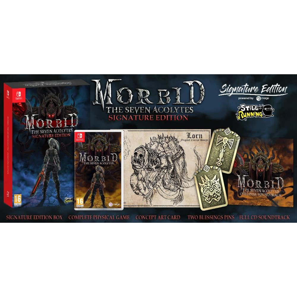 MORBID THE SEVEN ACOLYTES SIGNATURE EDITION SWITCH FR NEW