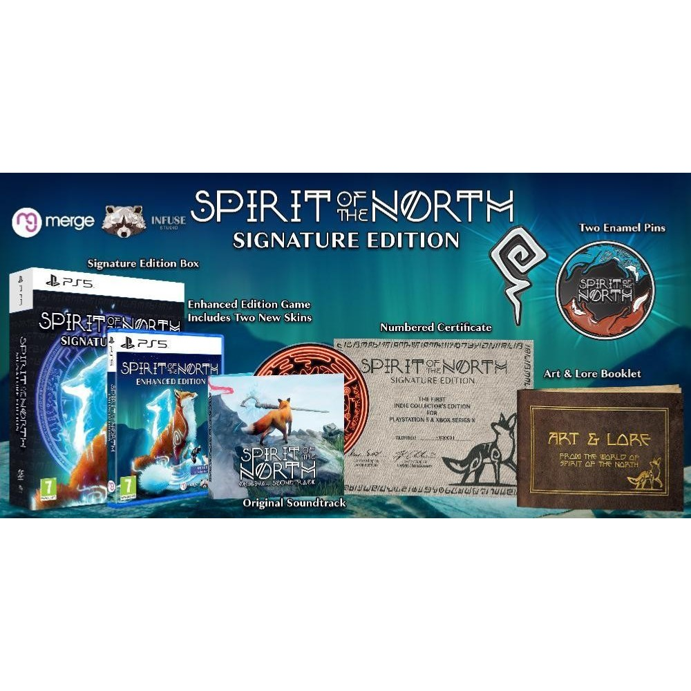 SPIRIT OF THE NORTH SIGNATURE EDITION PS5 FR NEW