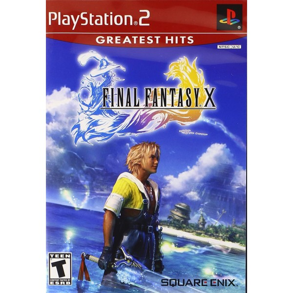 FINAL FANTASY X PS2 NTSC-USA OCCASION