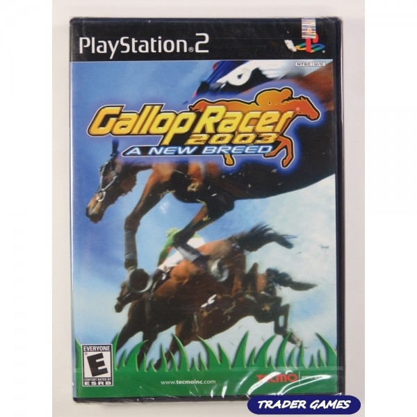GALLOP RACER 2003 A NEW BREED PS2 NTSC-USA OCCASION