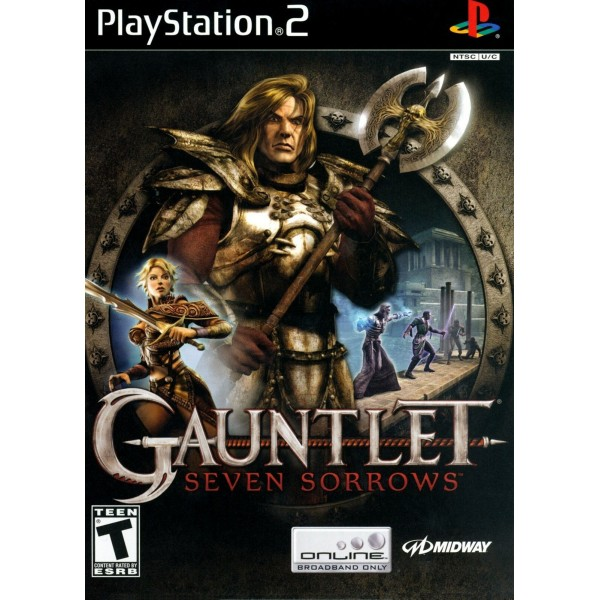 GAUNTLET SEVEN SORROWS PS2 NTSC-USA OCCASION