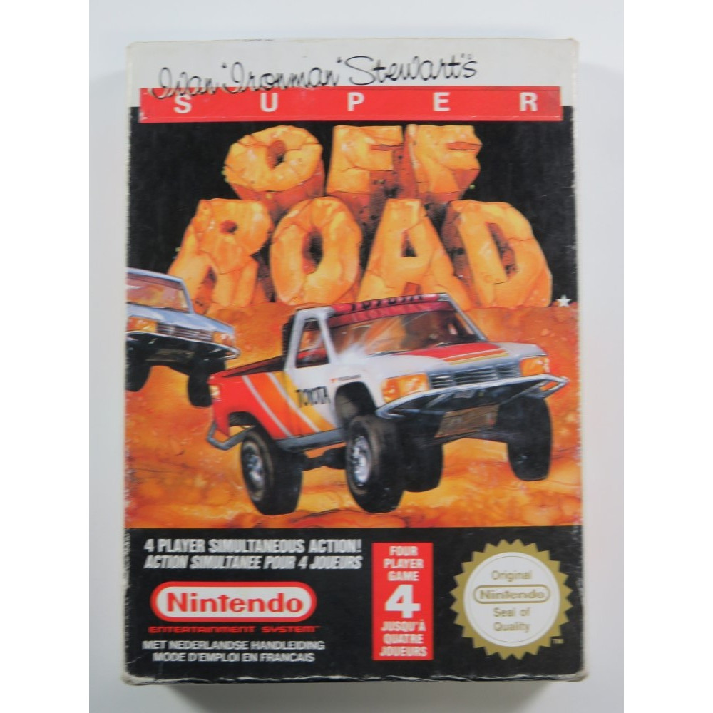 SUPER OFF ROAD NITENDO NES PAL-B (FAH) (COMPLETE - GOOD CONDITION)