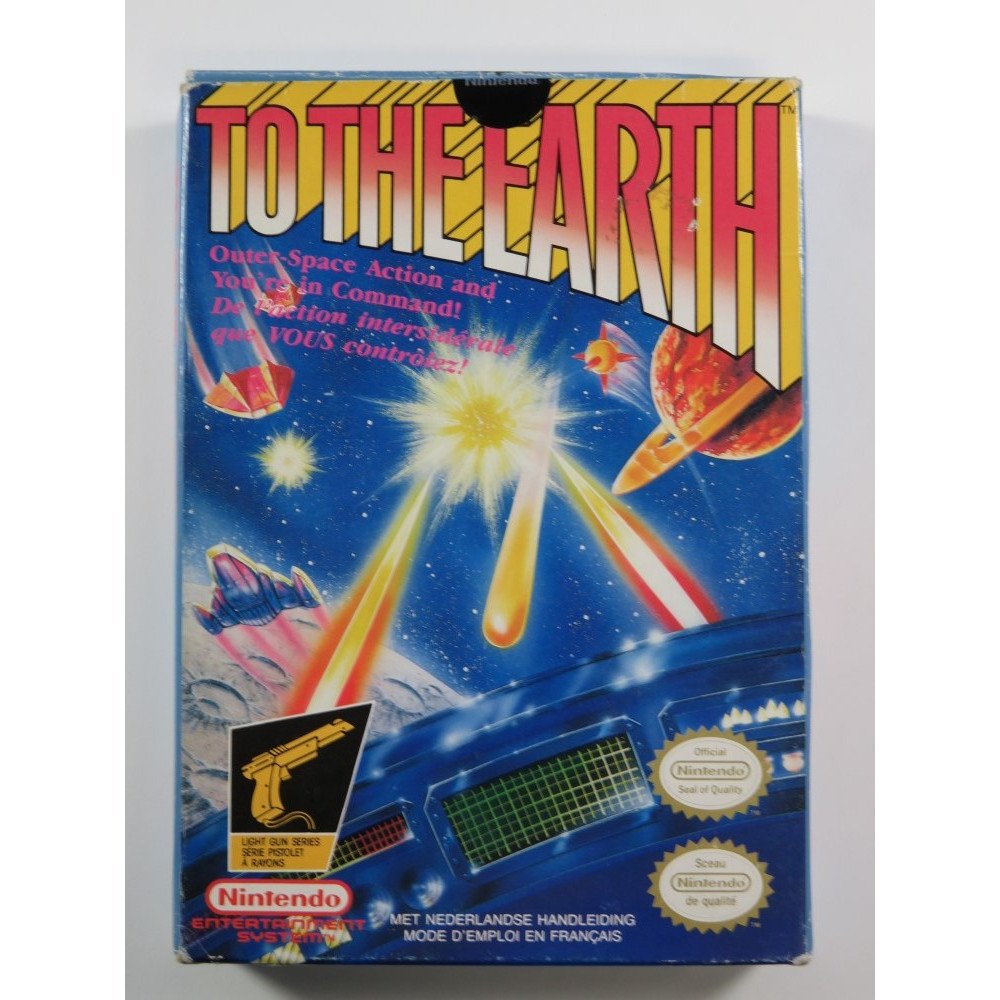 TO THE EARTH NES PAL-B (FAH) (SANS NOTICE - GOOD CONDITION OVERALL)