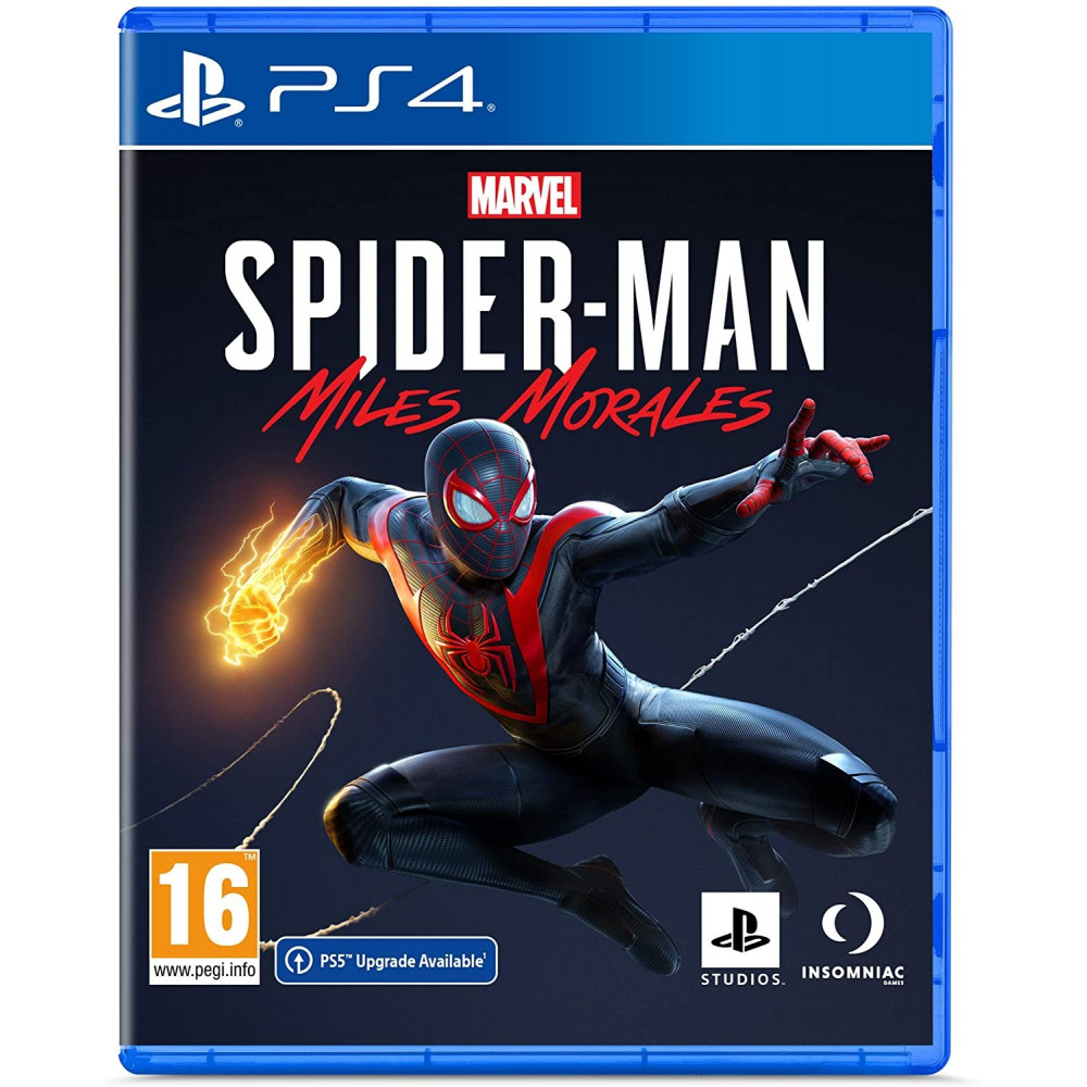 MARVEL S SPIDERMAN MILES MORALES PS4 EURO FR NEW