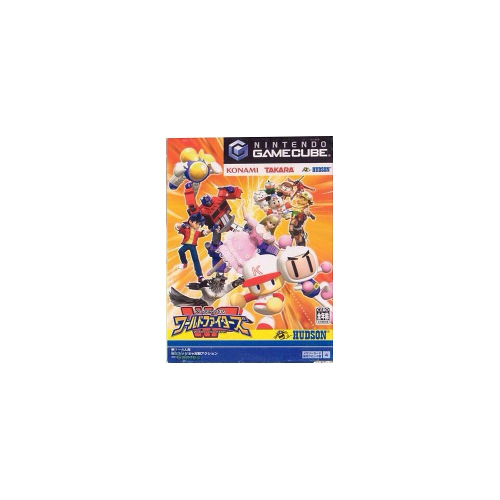 DREAM MIX TV WORLD FIGHTERS NINTENDO GAMECUBE NTSC-JPN OCCASION