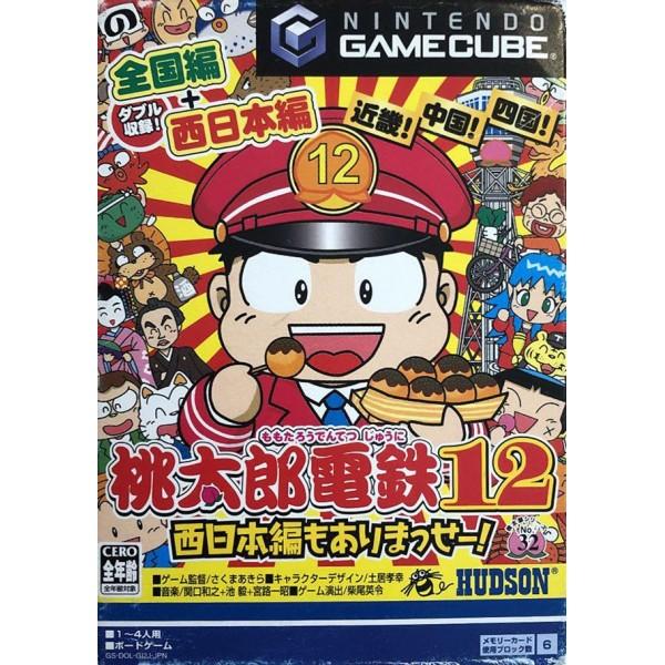 MOMOTARU DENTETSU 12 GAMECUBE NTSC-JPN OCCASION