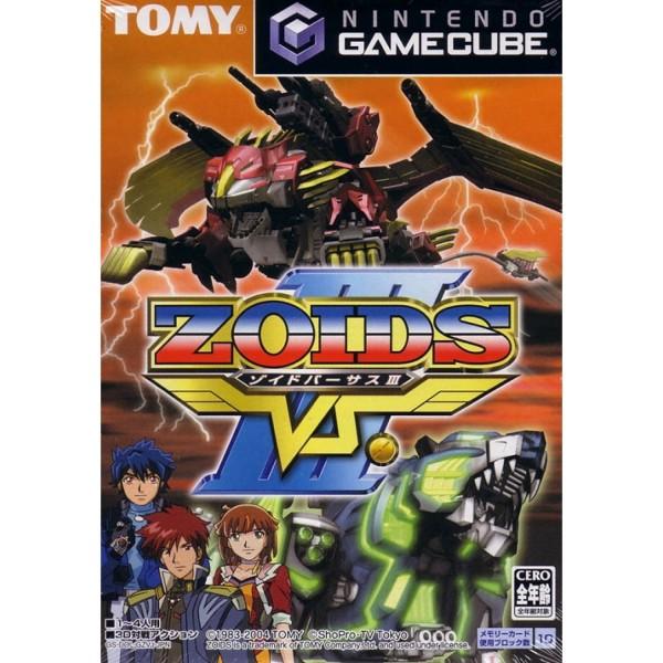 ZOIDS VS. III GAMECUBE NTSC-JPN OCCASION