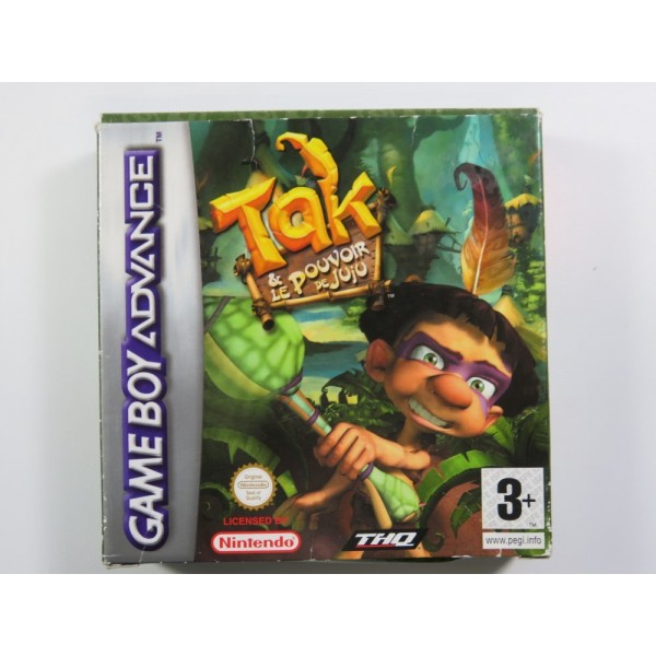 TAK ET LE POUVOIR DE JUJU GAMEBOY ADVANCE (GBA) PAL-FRA (COMPLETE - GOOD CONDITION)