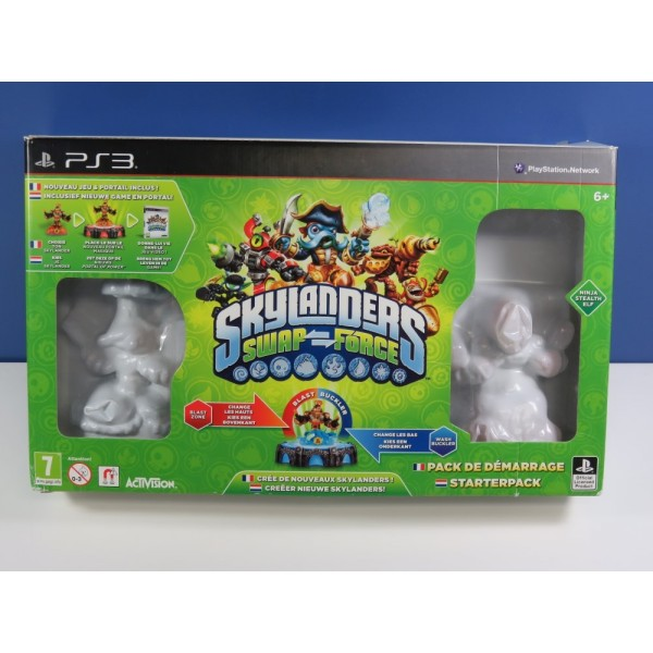 SKYLANDERS SWAP FORCE STARTER PACK (PACK DE DEMARRAGE) SONY PS3 PS3 EURO (COMPLET - GOOD CONDITION OVERALL)