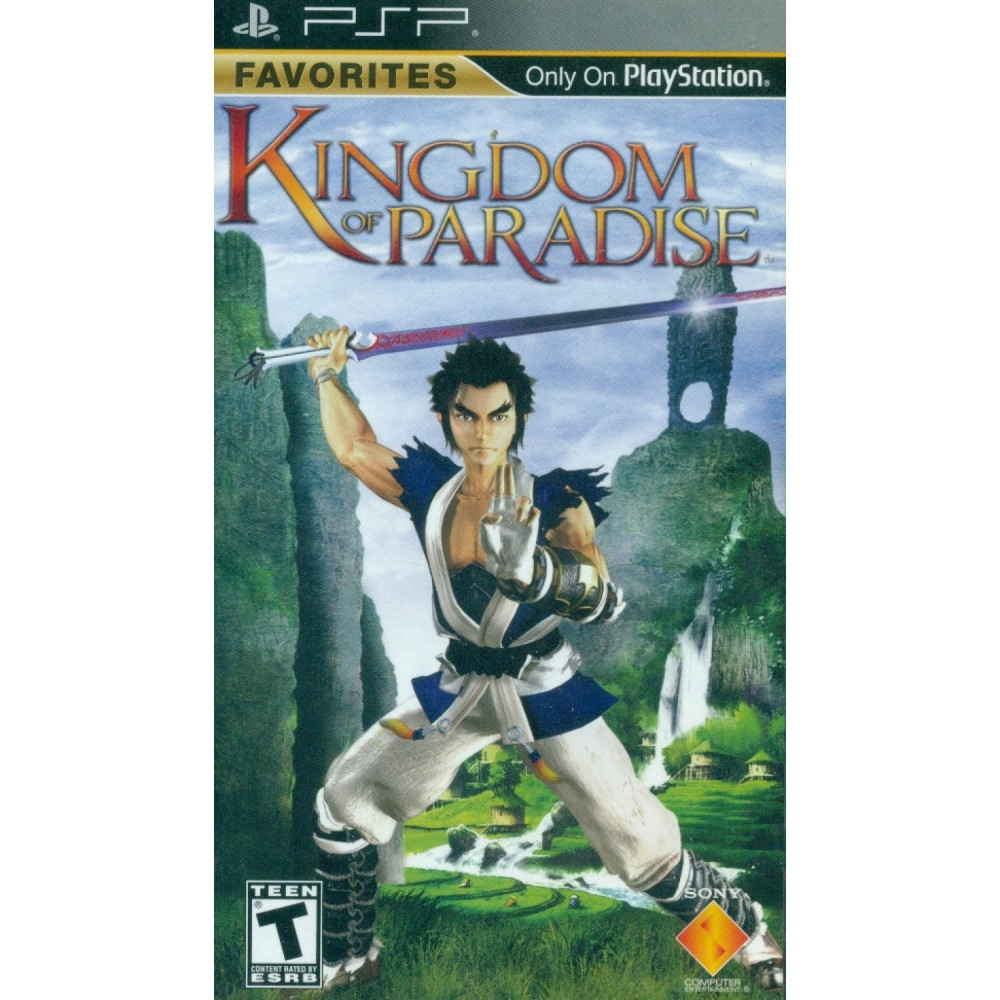 KINGDOM OF PARADISE PSP USA OCCASION
