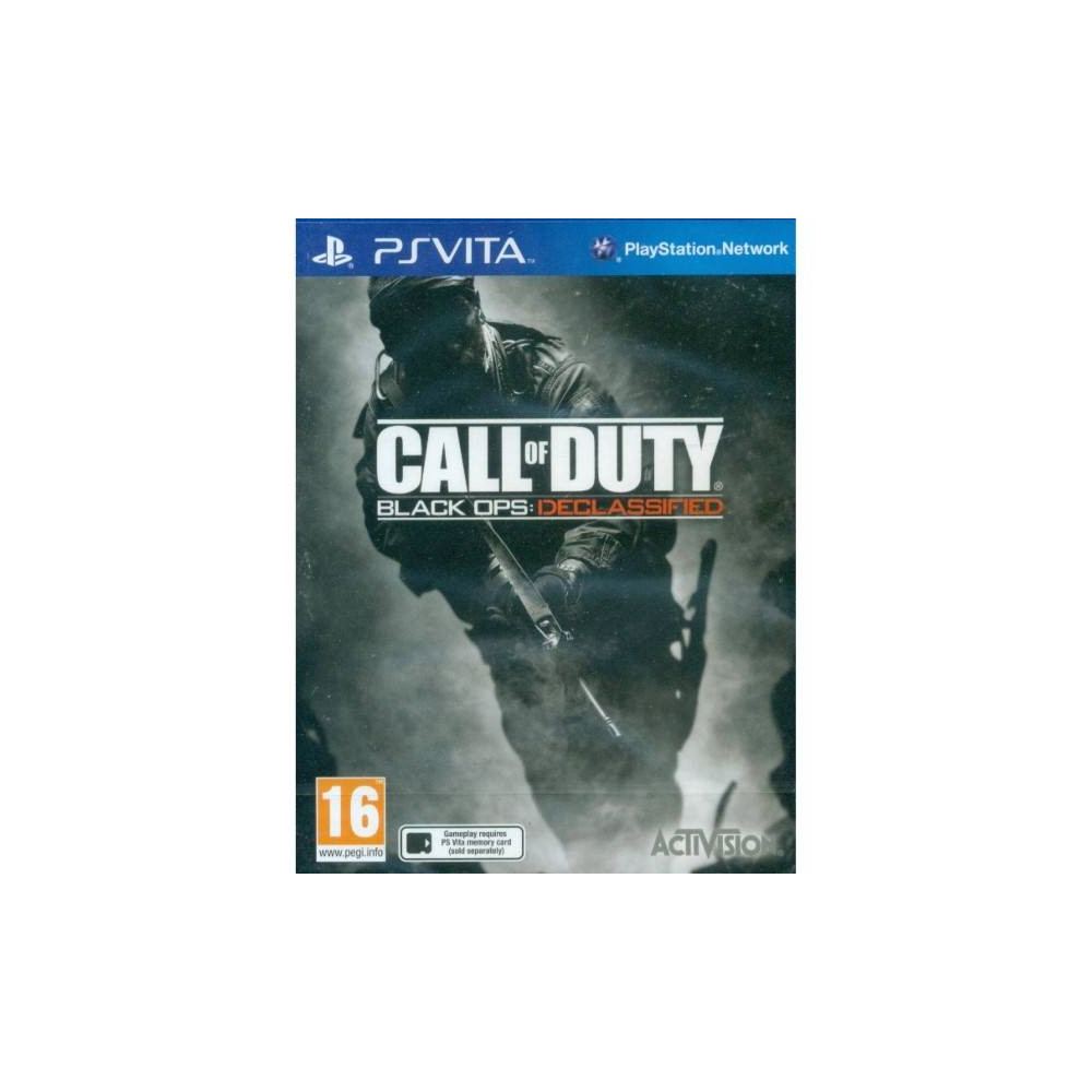 CALL OF DUTY DECLASSIFIED PSVITA FR OCCASION