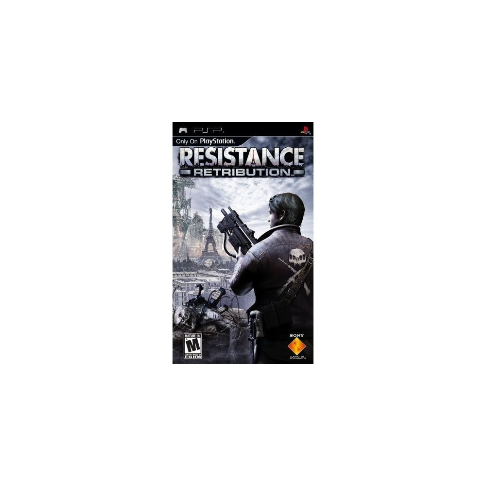 RESISTANCE RETRIBUTION PSP USA OCCASION (JEU EN FR)