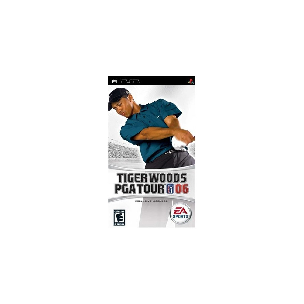 TIGER WOODS PGA TOUR 06 PSP USA OCCASION