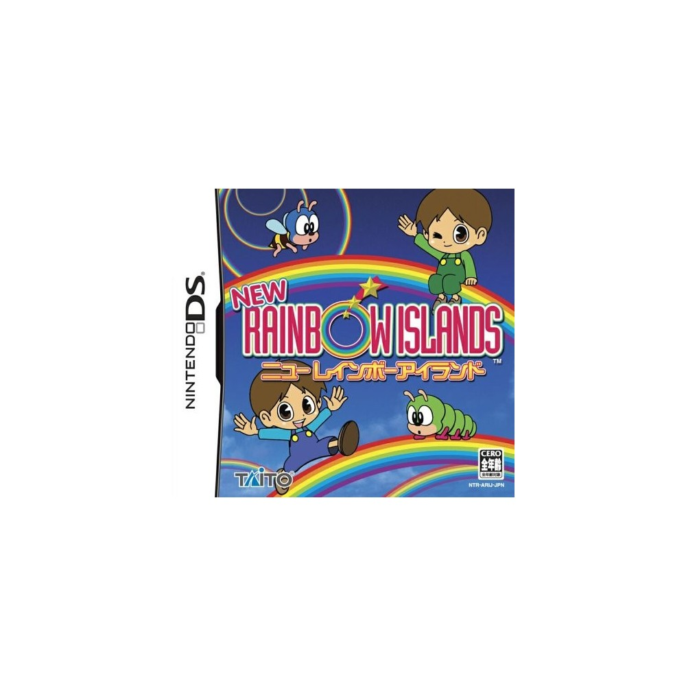 NEW RAINBOW ISLANDS NINTENDO NDS JPN NEUF - BRAND NEW
