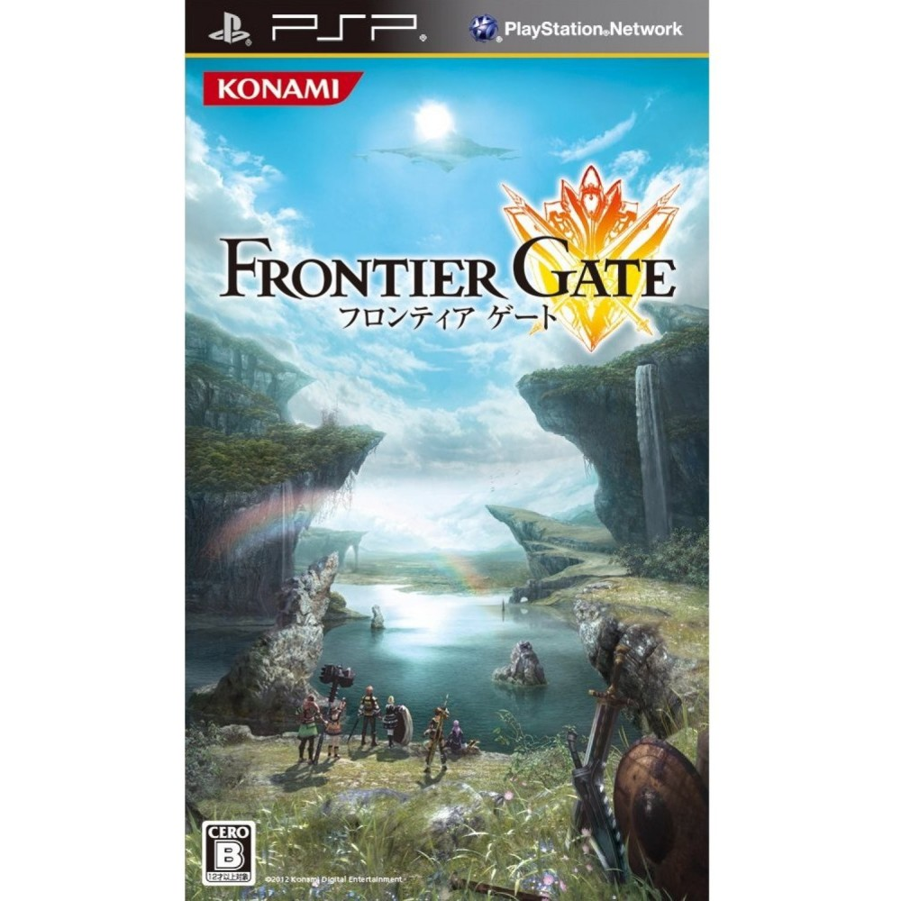 FRONT GATE SONY PSP-JAPAN NEW