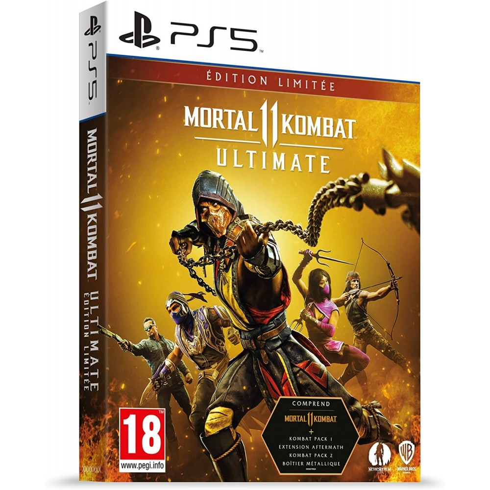 MORTAL KOMBAT II ULTIMATE LIMITED EDITION PS5 EURO FR NEW