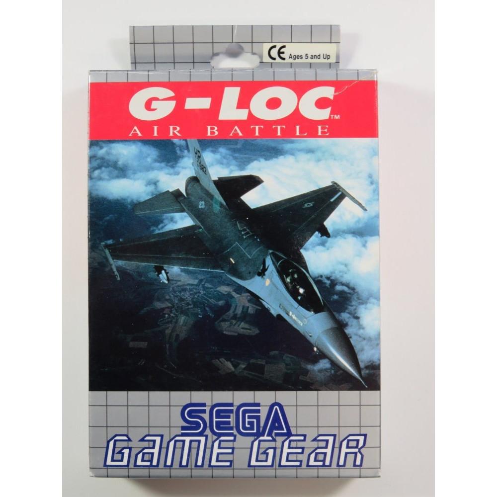 G-LOC AIR BATTLE GAMEGEAR EURO (COMPLETE - GOOD CONDITION)