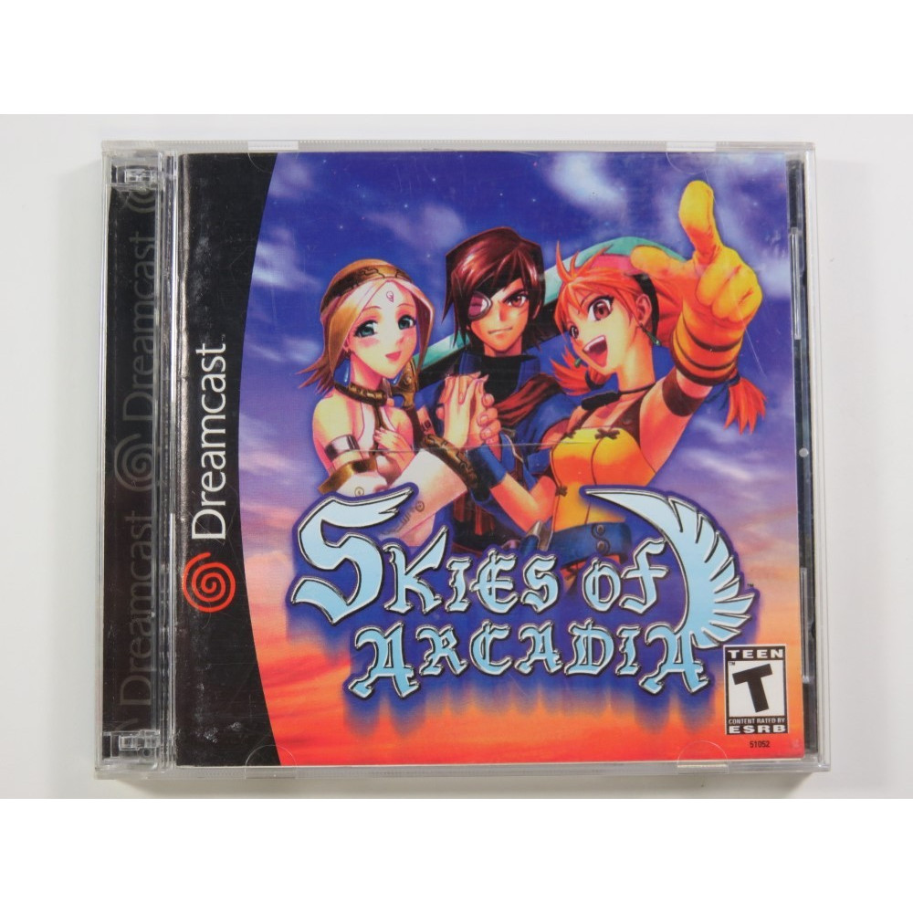 SKIES OF ARCADIA DREAMCAST NTSC-USA (COMPLETE - GOOD CONDITION) RPG