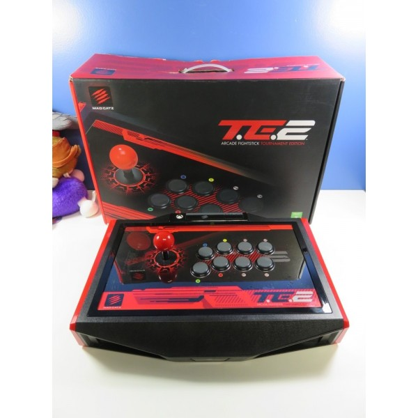 MAD CATZ ARCADE FIGHTSTICK T.E.2 XBOX ONE (XONE) EURO (BOXED - GOOD CONDITION OVERALL)