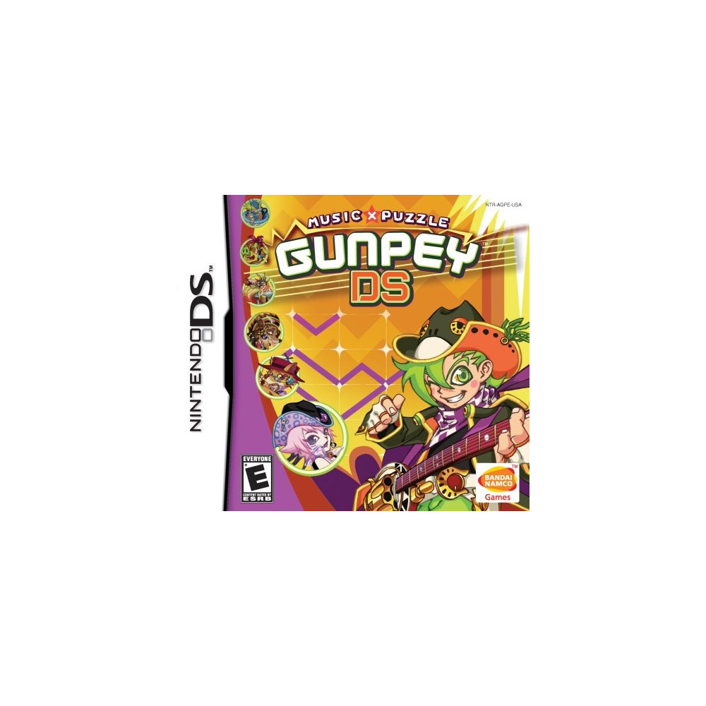 GUNPEY DS NDS USA OCCASION