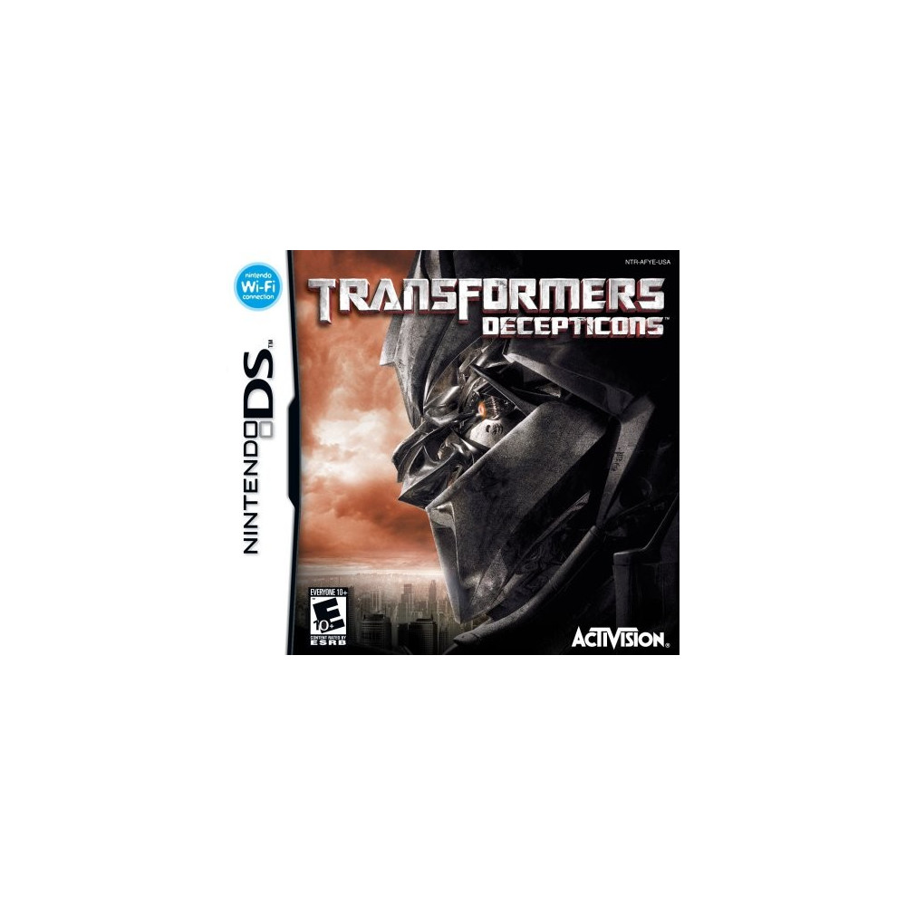 TRANSFORMERS DECEPTICONS NDS USA OCCASION
