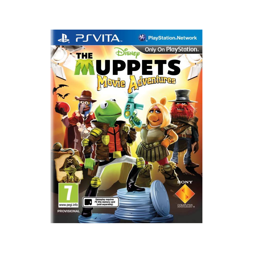 LES MUPPETS MOVIE ADVENTURES PSVITA FR OCCASION