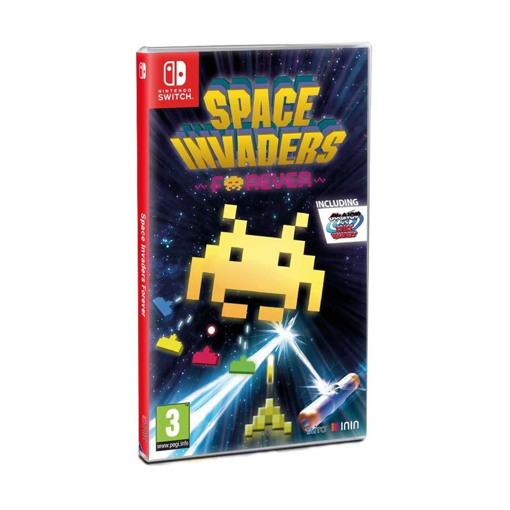 SPACE INVADERS FOREVER - SWITCH FR Précommande