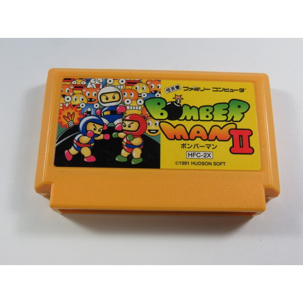BOMBERMAN II FAMICOM (FC) NTSC-JPN (CARTRIDGE ONLY - GOOD CONDITION)
