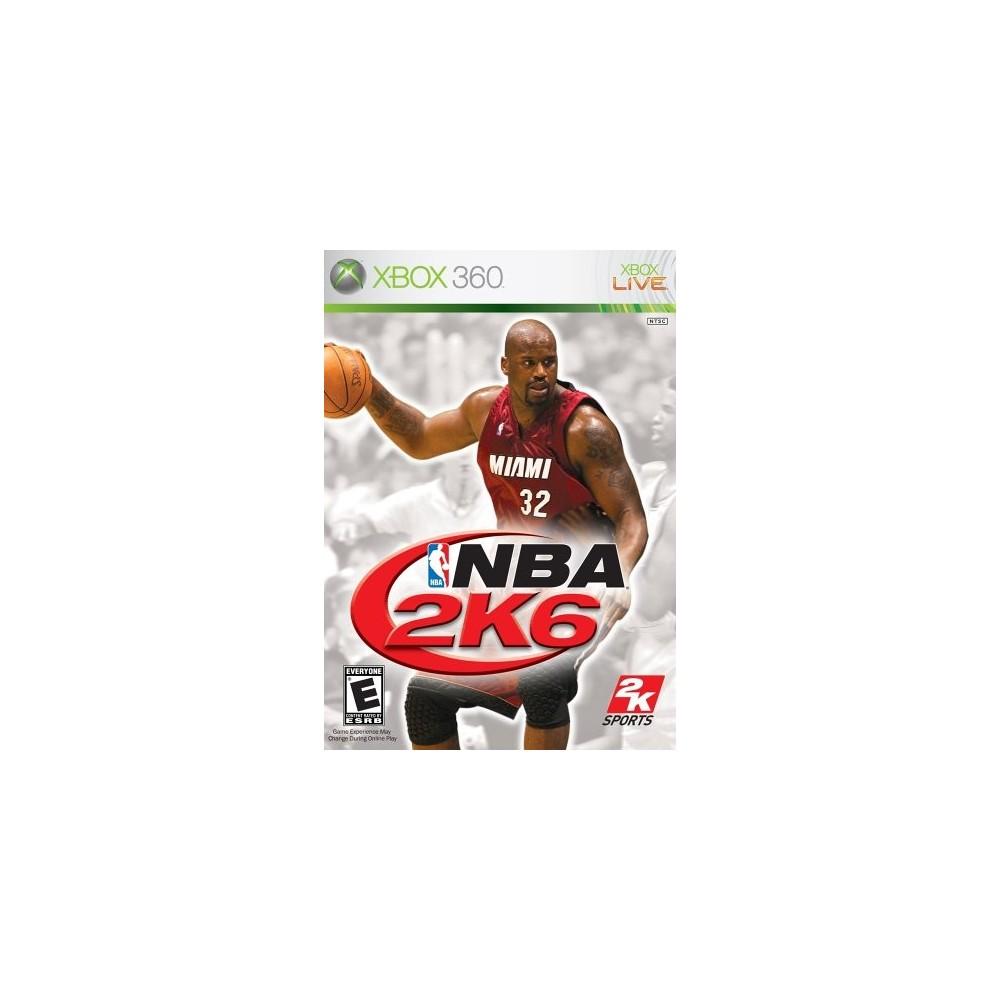NBA 2K6 XBOX 360 NTSC-USA OCCASION REGION LOCK