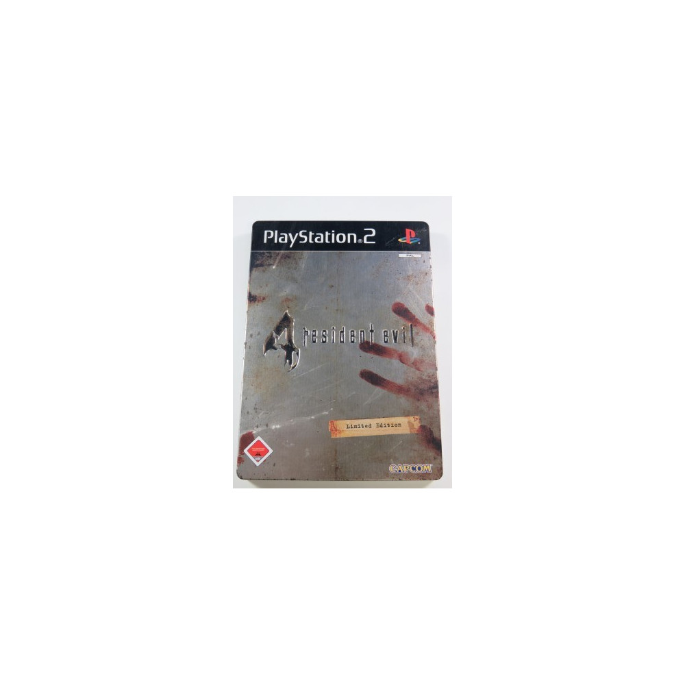 RESIDENT EVIL 4 LIMITED EDITION PS2 VERSION ALLEMANDE OCCASION JEU EN FRANCAIS