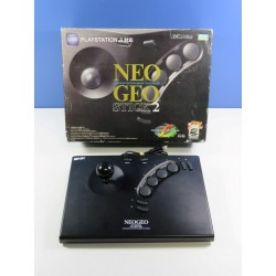 ARCADE STICK NEO GEO STICK 2 USB SNK PLAYMORE SONY PLAYSTATION 3 (PS3) JPN (BOXED)(WITHOUT MANUAL - GOOD CONDITION)