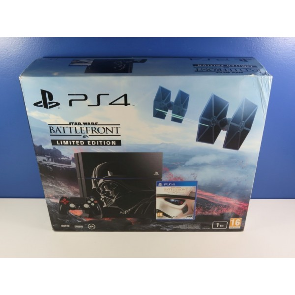 CONSOLE SONY PLAYSTATION 4 (PS4) 1TO STAR WARS BATTLEFRONT LIMITED EDITION CUH-1216B NEUF - BRAND NEW