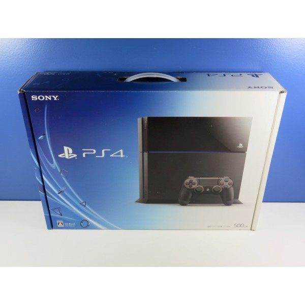 CONSOLE SONY PLAYSTATION 4 (PS4) CUH-1100A JET BLACK (1ST MODEL) JPN NEUF - BRAND NEW