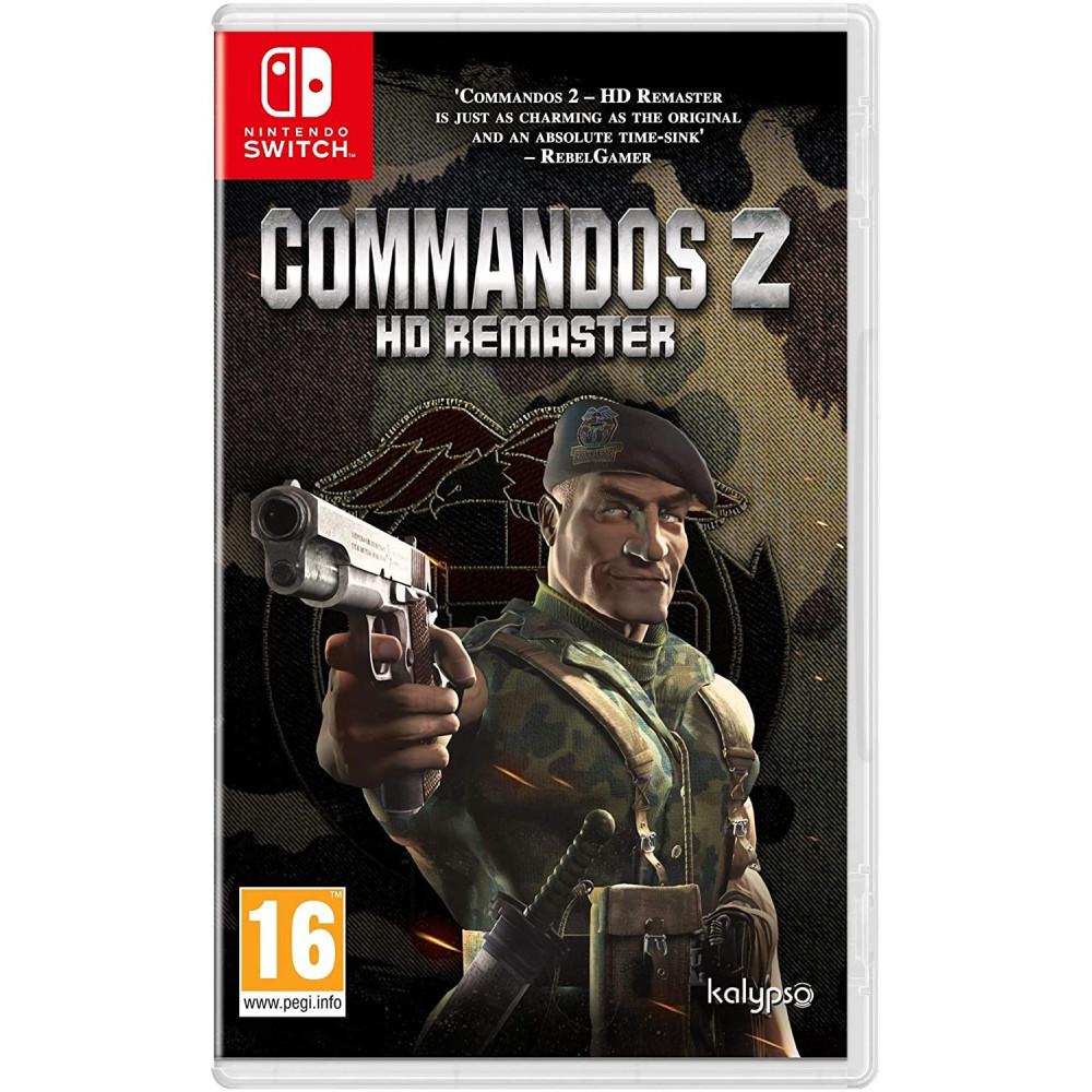 COMMANDOS 2 HD REMASTERED SWITCH UK NEW